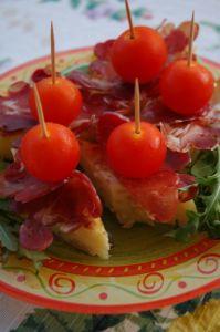 Bilde av Tapas - Frittata med pamaskinke og tomater