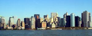 Bilde av Manhattan skyline